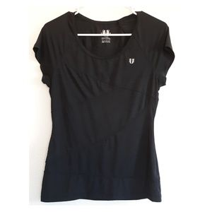 EleVen by Venus Williams black workout t-shirt